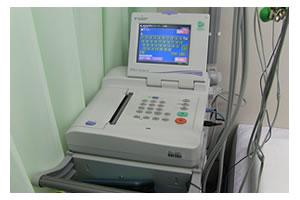 血圧脈波・心電図検査機器